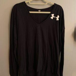 Black Long Sleeve Under Armour Shirt